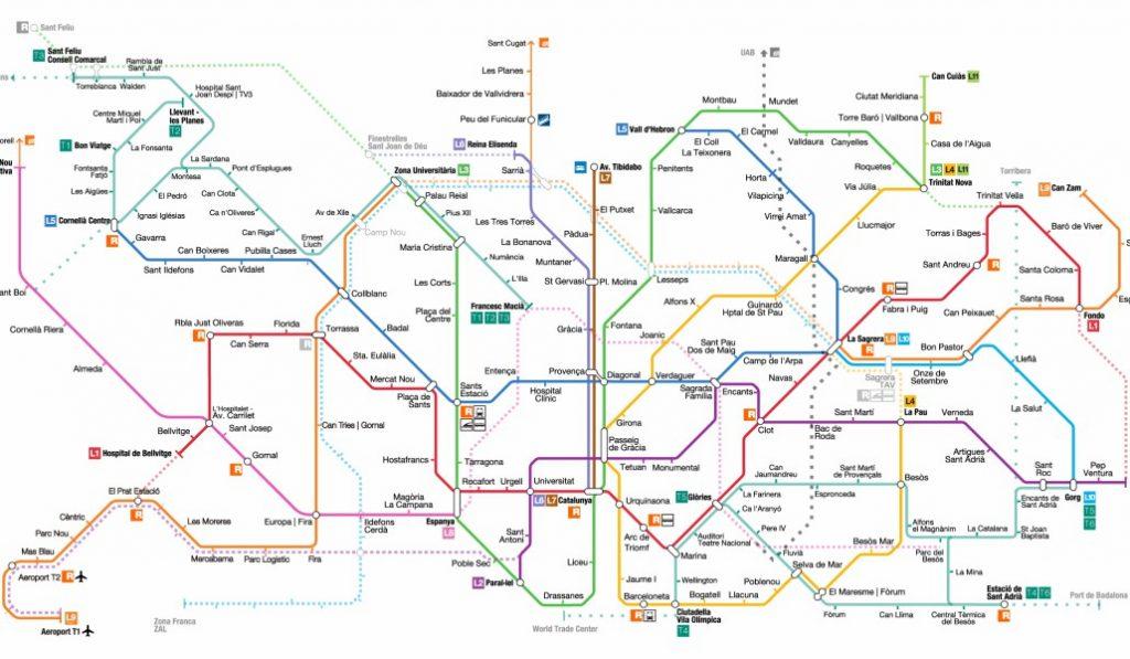 Barcelona tendrá una nueva línea de Metro