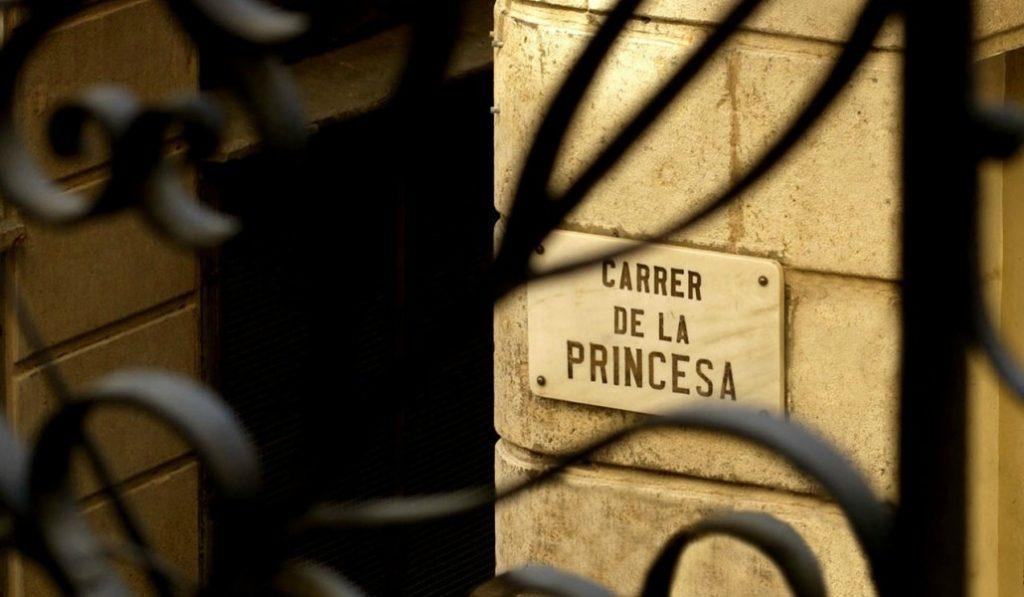 ¿Por qué se llama así el Carrer de la Princesa?