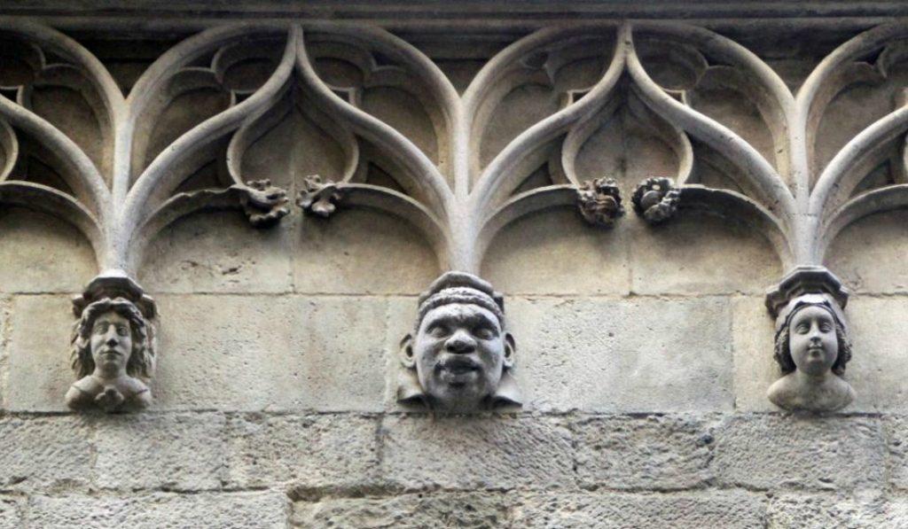 La cara del subsahariano esculpida en el siglo XV y su sorprendente historia
