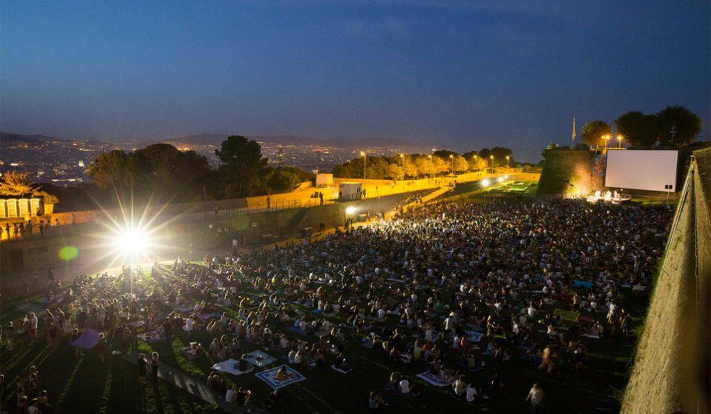 Hoy empieza el cine al aire libre de Montjuïc