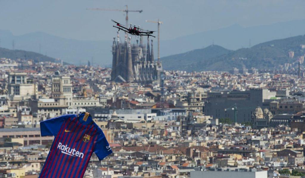 La nueva camiseta del Barcelona homenajea a la ciudad