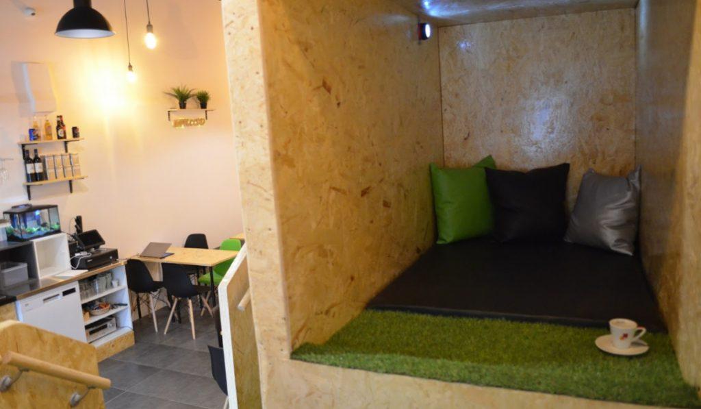 Nappuccino: la primera cafetería de España donde echarte la siesta