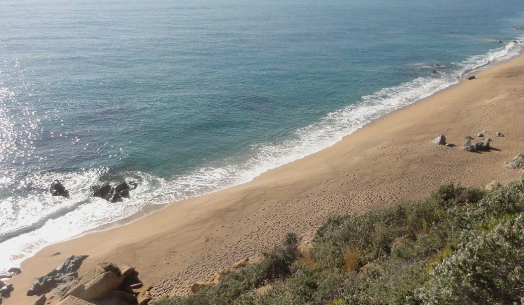 Esta es una de las mejores playas del Maresme