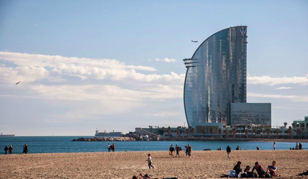 La Barceloneta, la playa más fotografiada de España