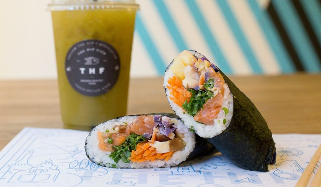 El burrito de sushi existe y se puede comer aquí