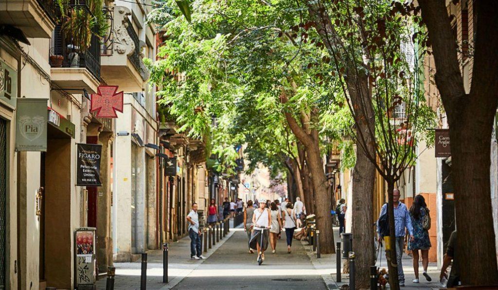 ¿Te imaginas hacer una súper gymkana en el Barrio de Gràcia?