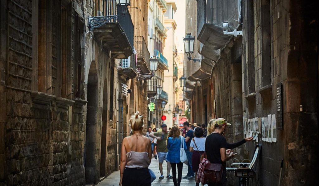 Esta era la calle más importante de Barcelona, pero ya nadie se acuerda