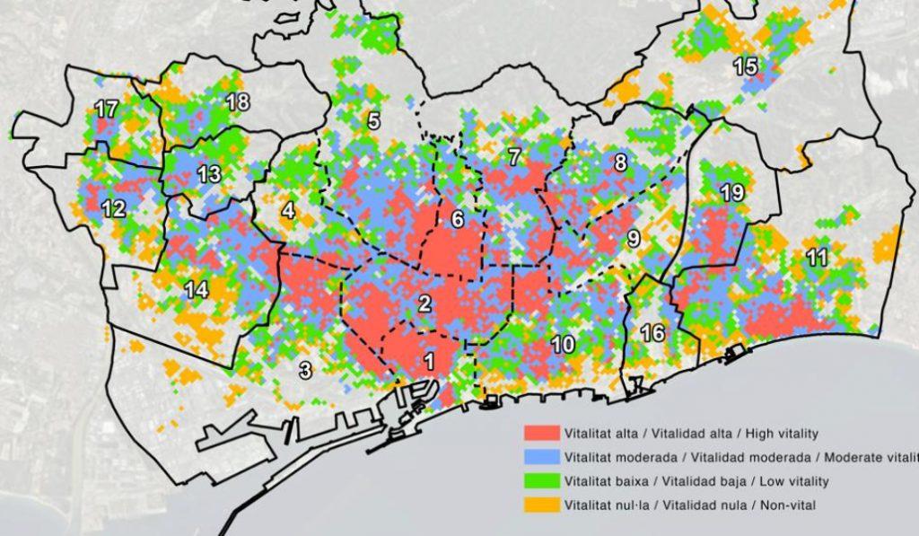 Un estudio demuestra que la periferia de Barcelona tiene muchísima vida