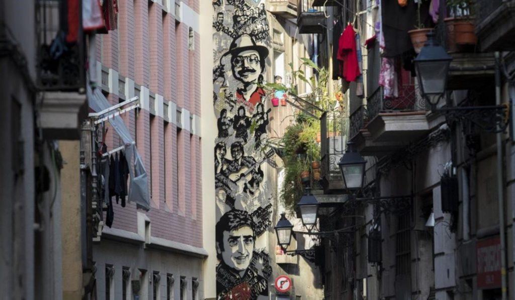 La Calle de la Cera, la cuna de la rumba catalana