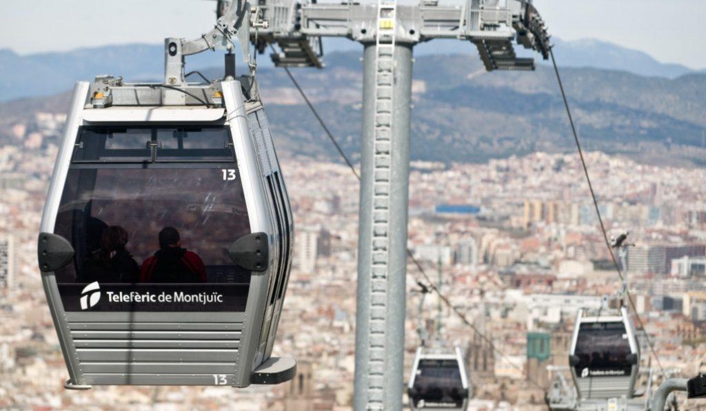 La renovación del funicular de Montjuïc ya está casi en marcha