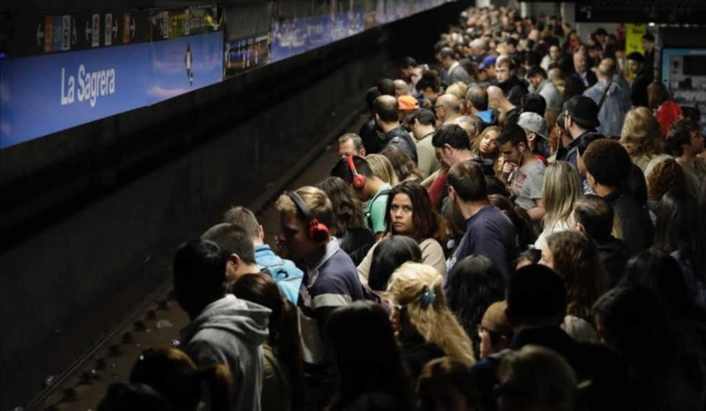 Habrá huelga de metro durante la Mercé