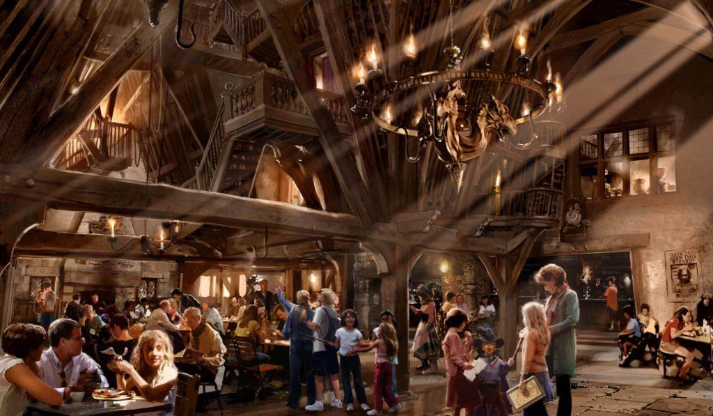¿Te imaginas un bar ambientado en Harry Potter en el que trabajan personas sin hogar?