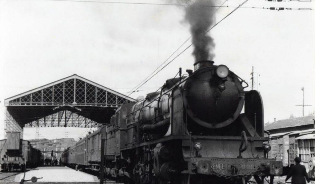 172 años desde el primer viaje en ferrocarril de España