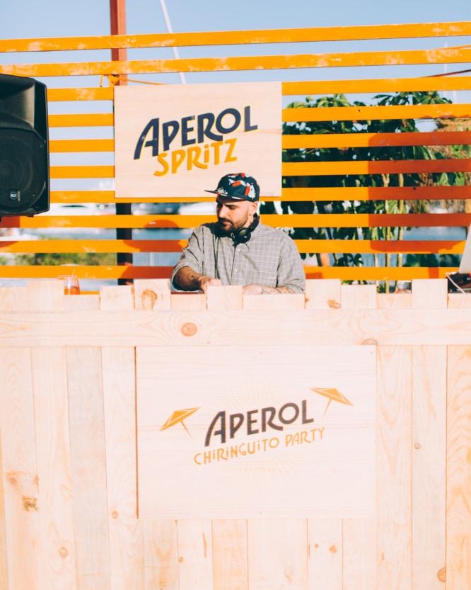 Aperol Chiringuito Party BCN 07 DJ Mr.K (1)