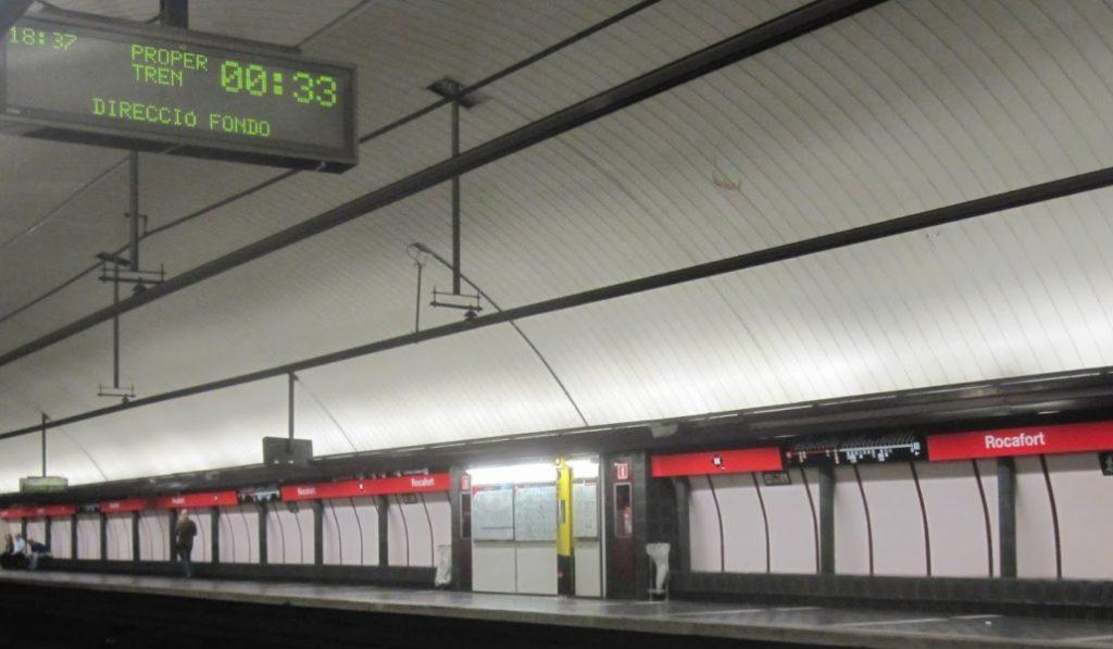 La maldición que pesa sobre la parada de metro de Rocafort