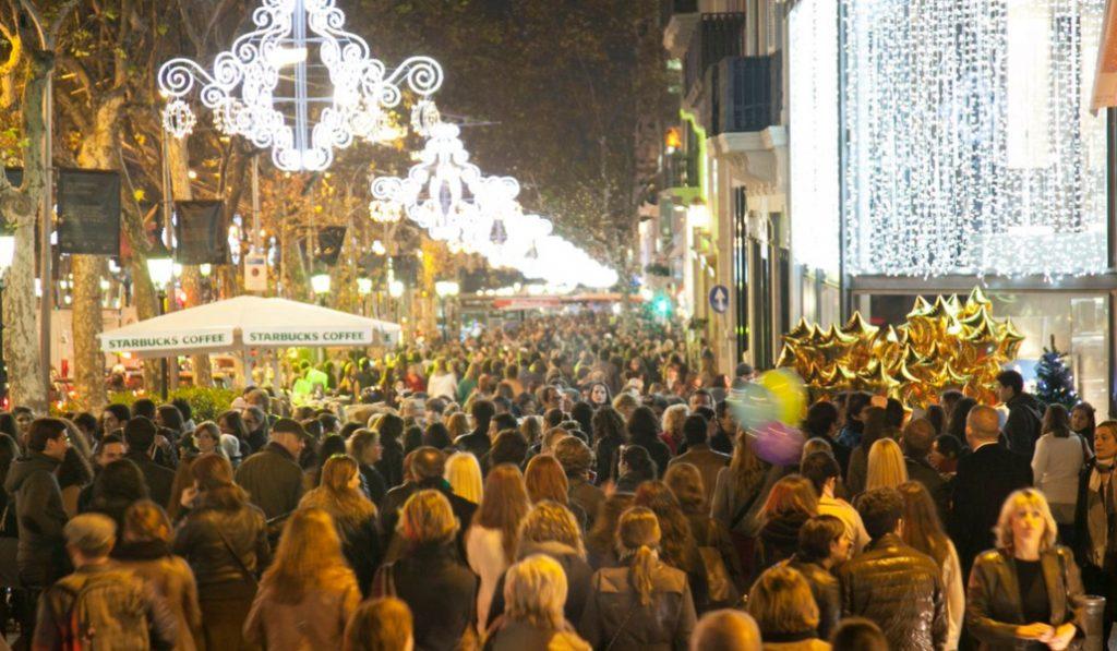 Mañana es la Shopping Night de Barcelona
