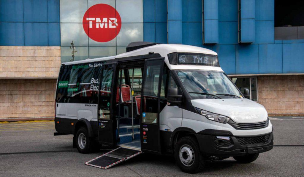 Barcelona tendrá su primer minibús 100% eléctrico
