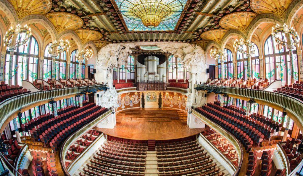 El Palau de la Música abre (gratis) sus puertas