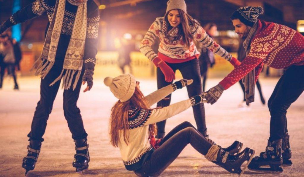 Esta pista de patinaje sobre hielo está enamorando a quien la prueba