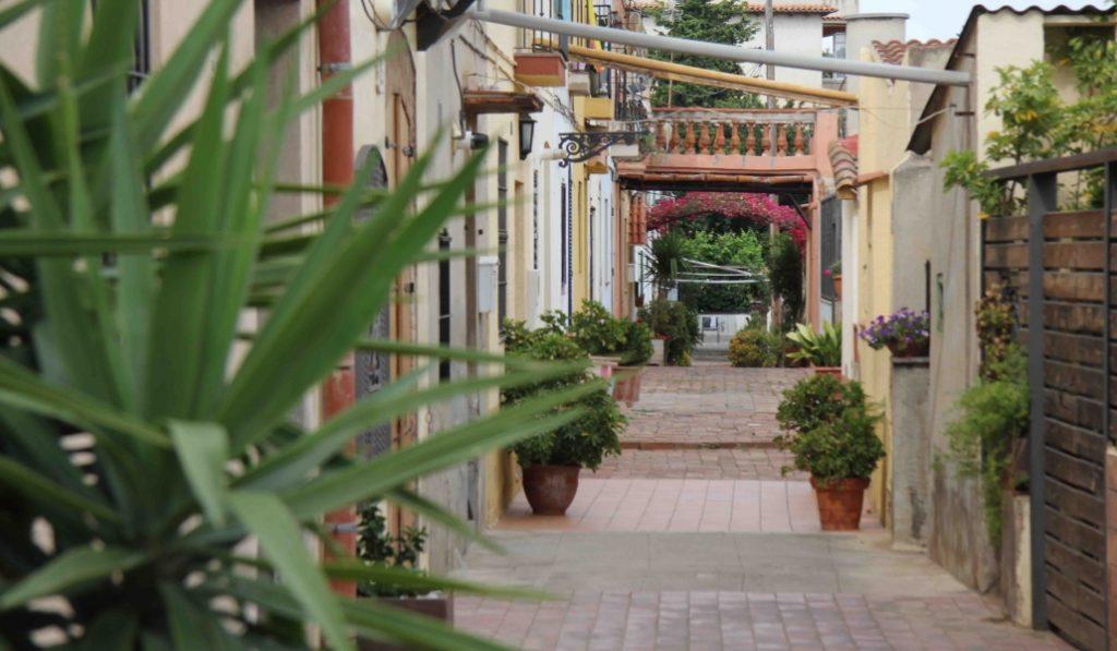 El carrer d'Aiguafreda es la calle más peculiar de Barcelona