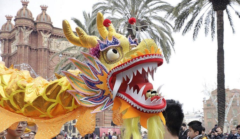 Así será la celebración del Año Nuevo Chino en Barcelona