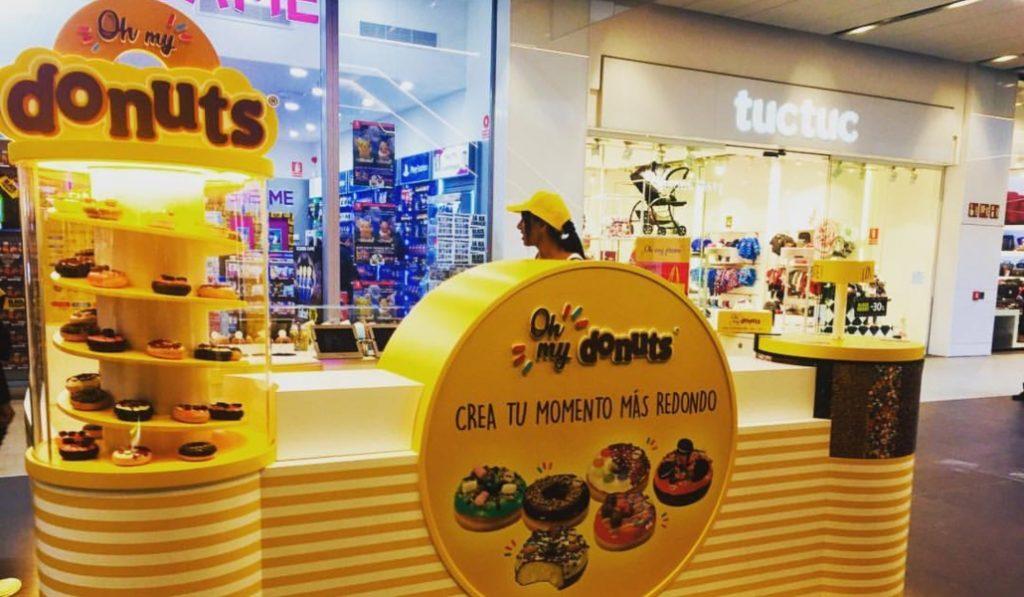 La tienda de Donuts de Diagonal Mar abrirá hasta mayo