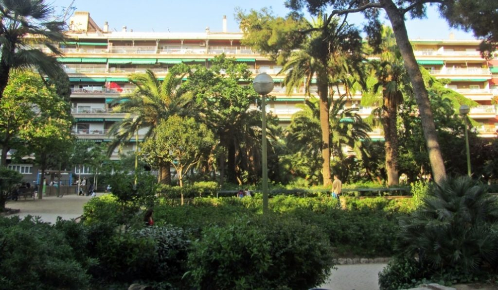 Jardines de Moragas… o el paraíso abierto al barcelonés