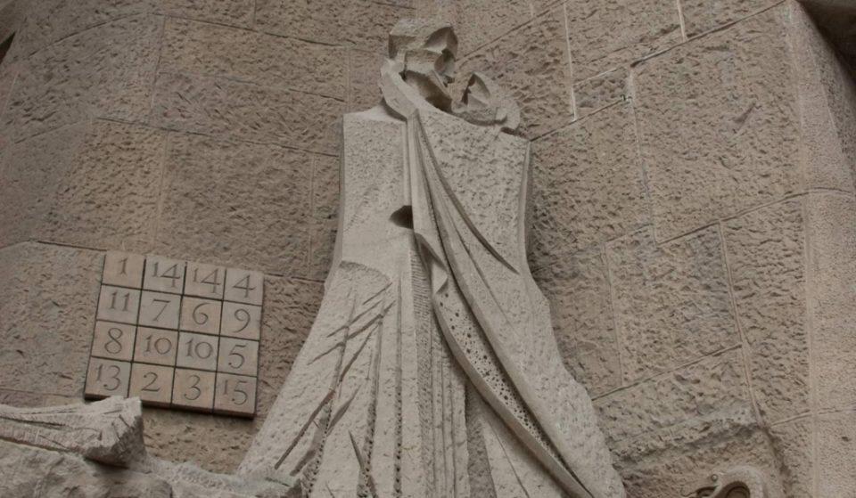 El sudoku de la Sagrada Familia, un posible misterio masón