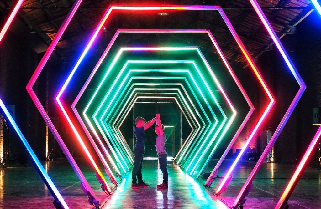 Llum BCN: Poblenou vuelve a brillar con luz propia