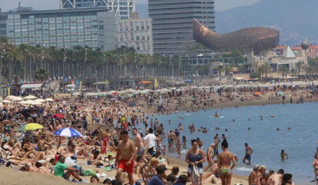 Dentro de 80 años, Barcelona no tendrá playa