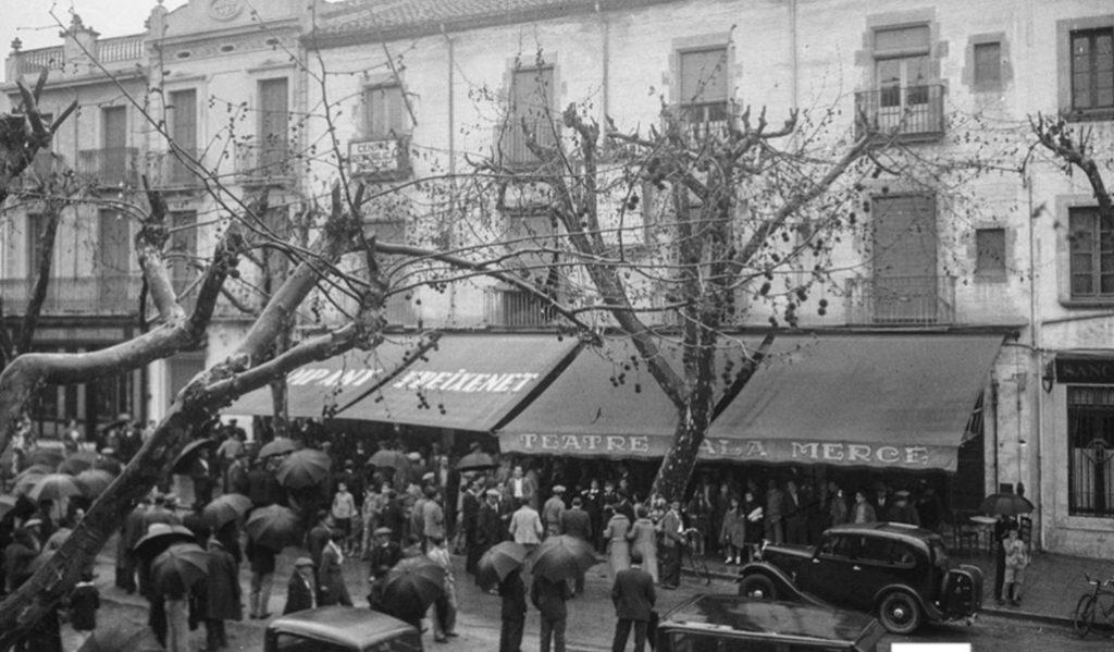 El cine que Gaudí diseñó en La Rambla