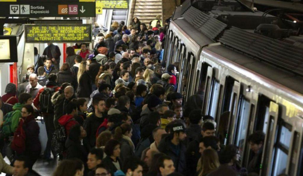 El año que viene podrás saber cuánta gente hay en cada vagón de metro