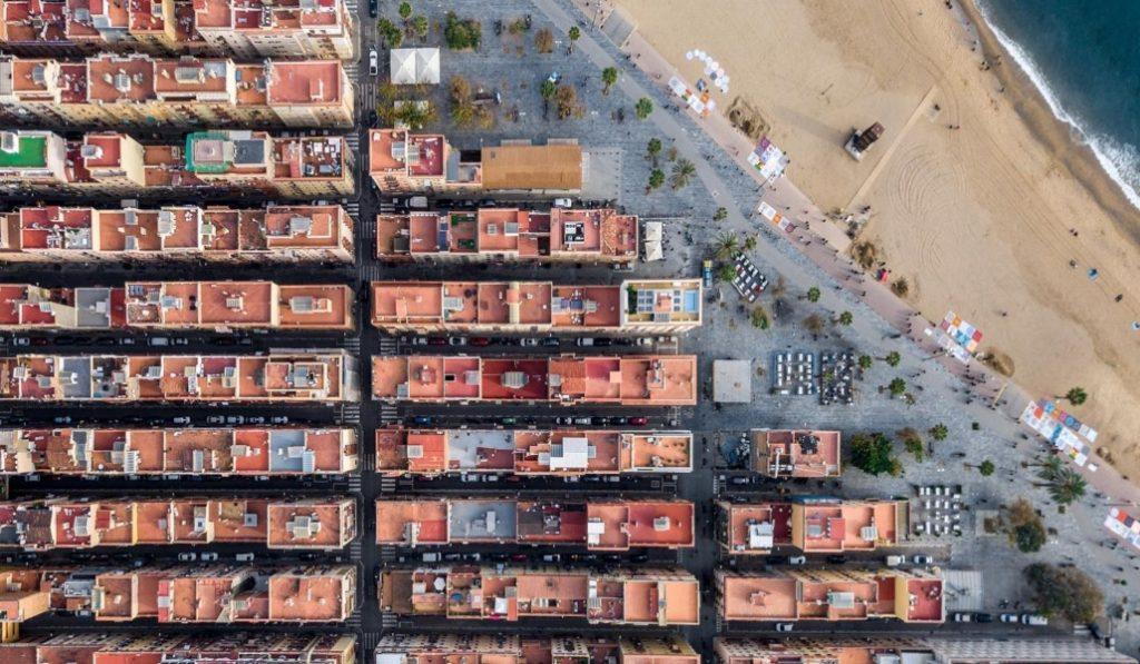 Estas son las fotos aéreas más espectaculares de Barcelona