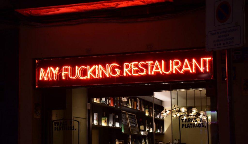 My Fucking Restaurant: parada obligatoria en el centro