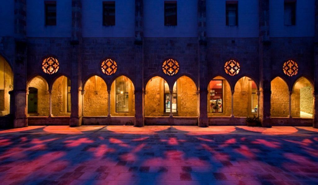 El claustro del convento de Sant Agustí: aún quedan lugares secretos en el Born