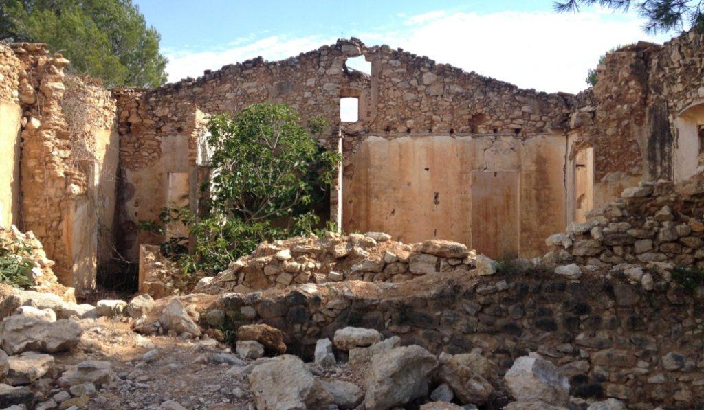 Jafra: en el Garraf hay un pueblo fantasma