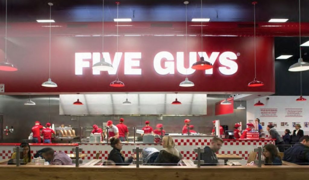 Five Guys abrirá un local en plz Catalunya el 22 de abril