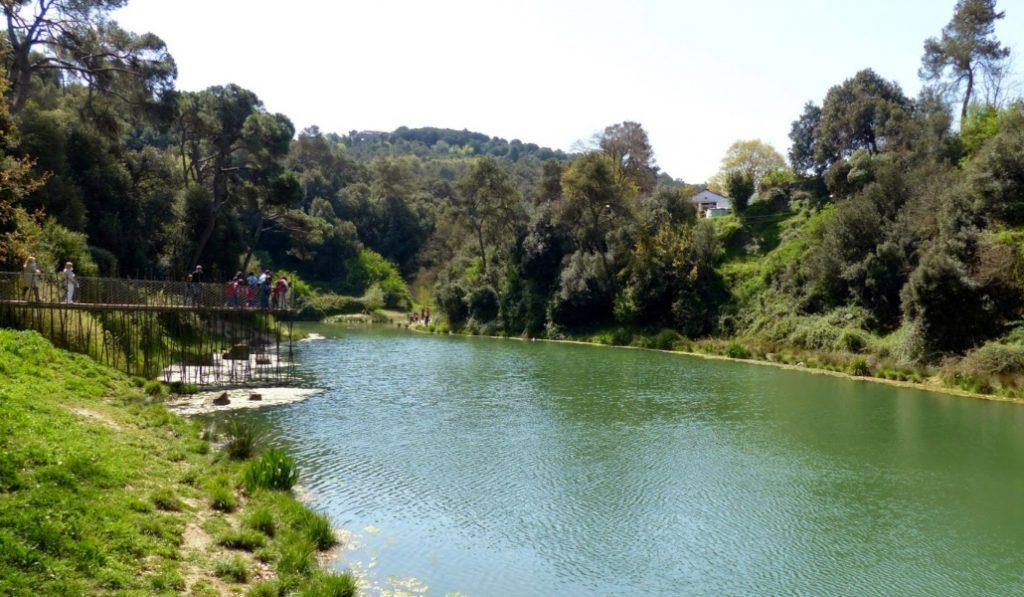 El pantano de Vallvidrera, la tranquilidad hecha lugar físico