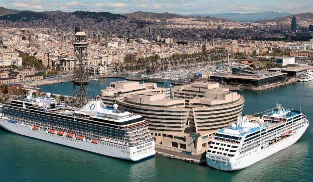 Barcelona: la ciudad europea más contaminada por los cruceros