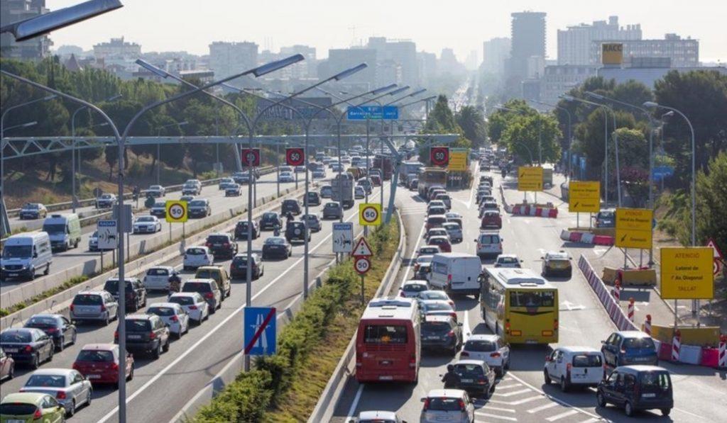 Barcelona es la ciudad con más atascos de España