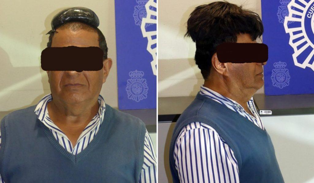 Detenido en el Aeropuerto de Barcelona con medio kilo de cocaína bajo su peluquín