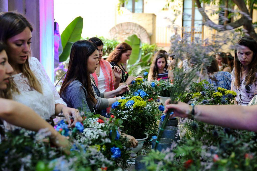Asistimos al jardín inglés que Bombay Sapphire escondió en pleno centro de Barcelona