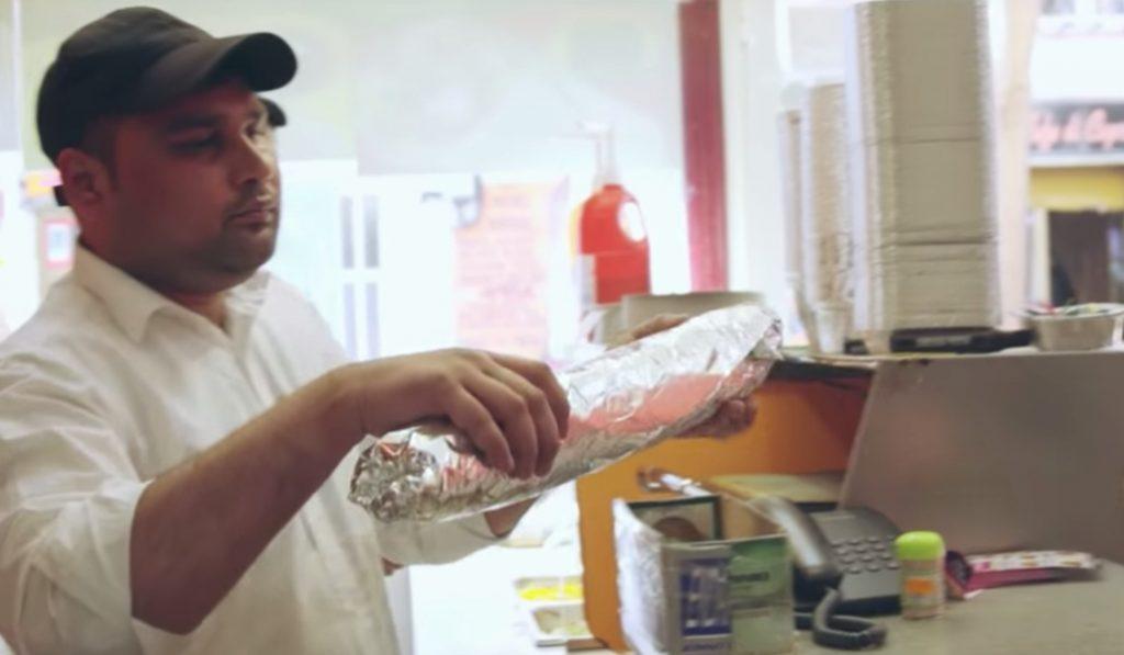 Rico Kebab-2: aquí puedes comer un durum de más de 2kg por menos de 10€