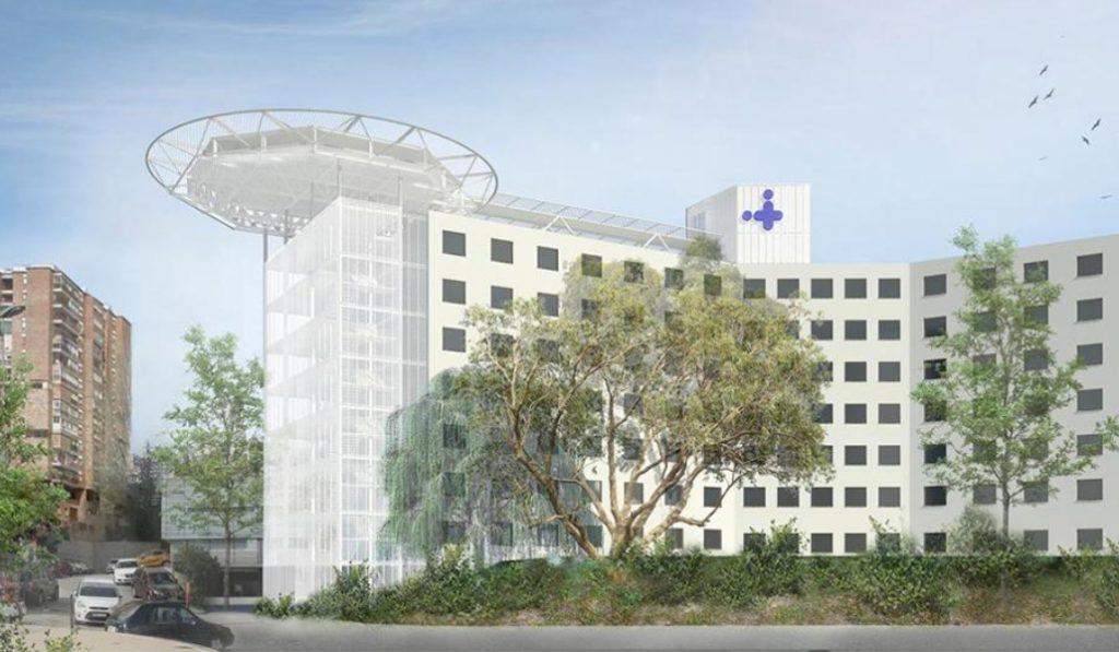 El Hospital Vall d'Hebron tendrá helipuerto en 2020