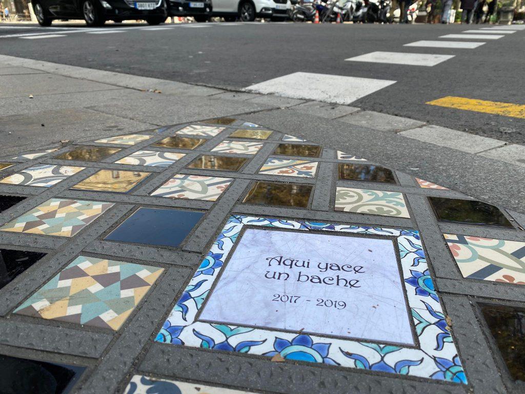 El arte callejero tras los disturbios en Urquinaona