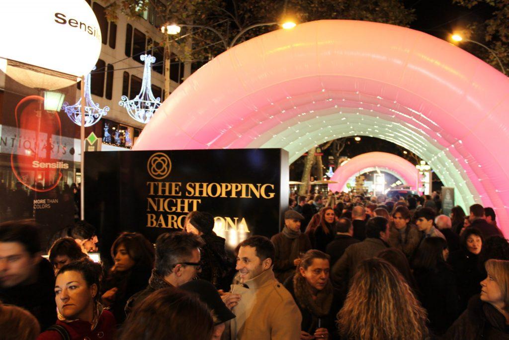 Así será la Shopping Night Barcelona del Passeig de Gràcia