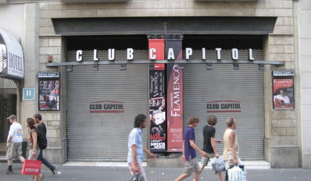 Adiós al Club Capitol