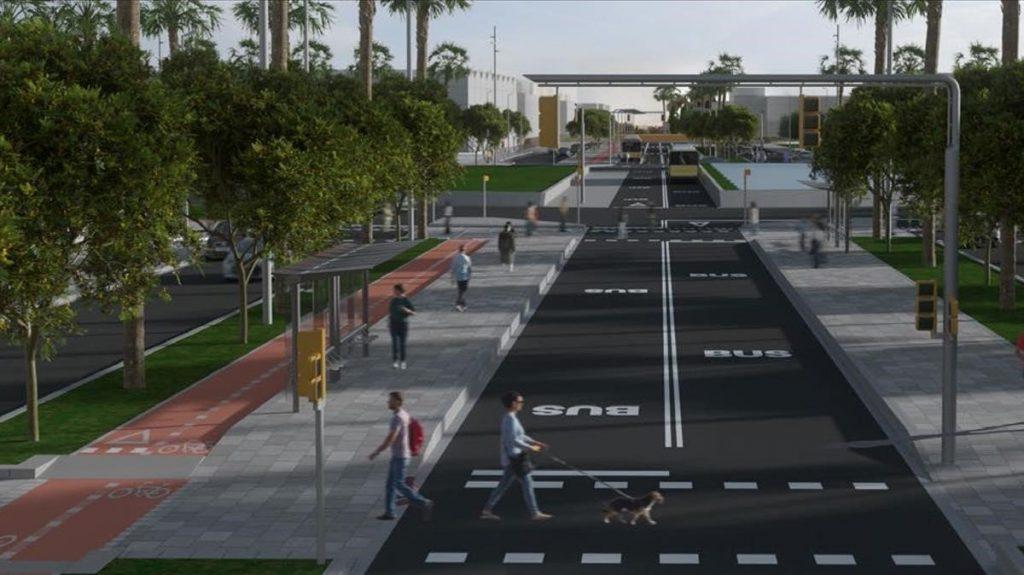 Una calle de 13 kilómetros unirá cinco municipios de Barcelona