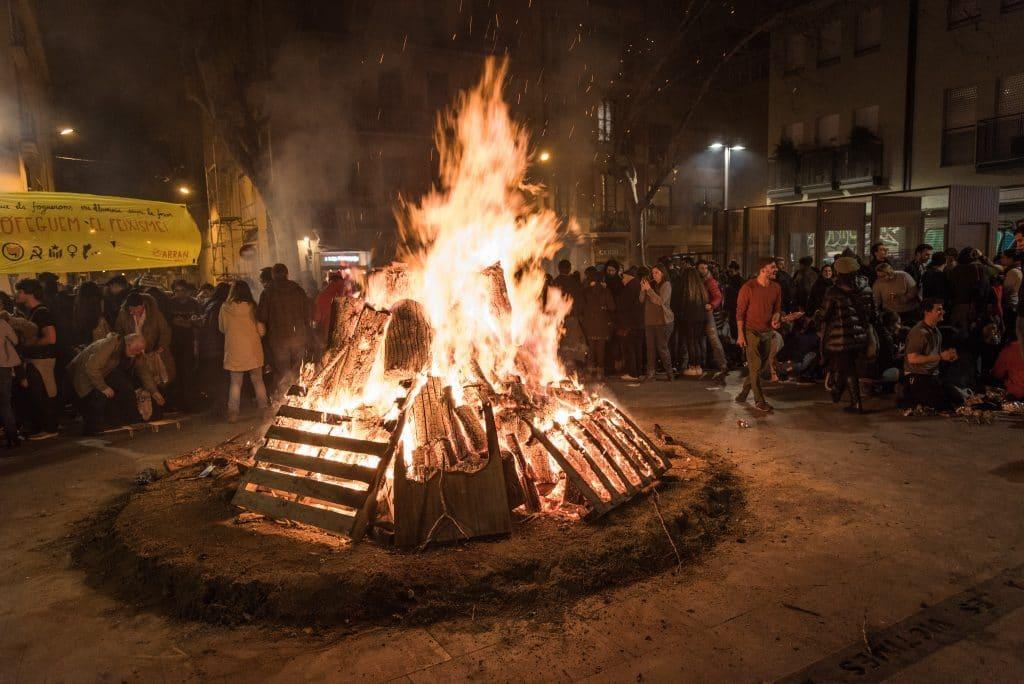 Vuelven los Foguerons de Sa Pobla, la fiesta más caliente del invierno