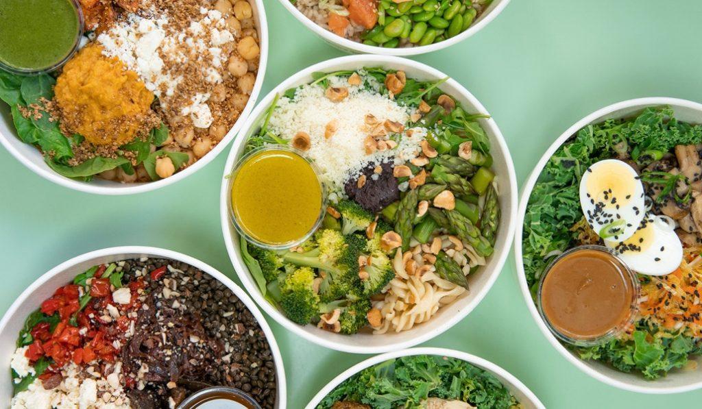 Enlagloria Salad House: bols cargados de sabor y comida sana